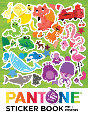 Pantone: Sticker Book with Posters - Pantone