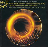 Panufnik: Sinfonia Votiva; Sessions: Concerto for Orchestra - Boston Symphony Orchestra; Seiji Ozawa (conductor)