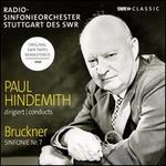 Paul Hindemith dirigiert Bruckner, Sinfonie Nr. 7
