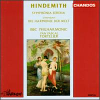 Paul Hindemith: Symphonia Serena; Die Harmonie der Welt - Andrew Orton (violin); Dennis Simons (violin); Janet Fisher (viola); Tania Maxwell (viola); BBC Philharmonic Orchestra;...