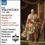 Paul Wranitzky: Orchestral Works, Vol. 1