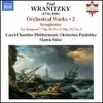Paul Wranitzky: Orchestral Works, Vol. 2
