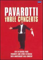 Pavarotti: The Three Concerts [DVD Video] [Box Set] - Andrea Griminelli (flute); Enzo Dara (baritone); Giovanni Furlanetto (baritone); Giuseppe Sabbatini (tenor); James Levine (piano); June Anderson (soprano); Luciano Pavarotti (tenor); Paolo Coni (baritone); Patrizia Pace (soprano)