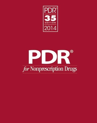 PDR for Nonprescription Drugs 2014 - PDR Staff