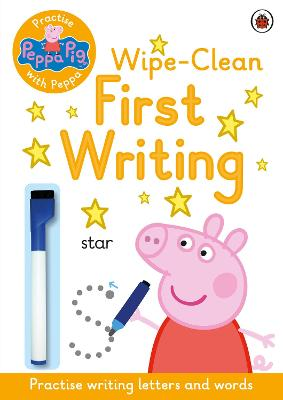 Peppa Pig: Practise with Peppa: Wipe-Clean First Writing -