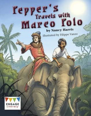 Pepper's Travels with Marco Polo - Harris, Nancy E.