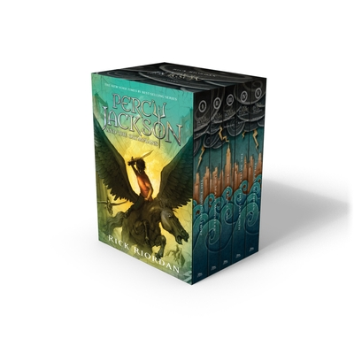 Percy Jackson & the Olympians Boxed Set - Riordan, Rick