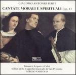 Perti: Cantate Morali e Spirituali (Op. 1)