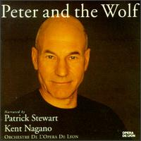 Peter and the Wolf Narrated by Patrick Stewart - Patrick Stewart; Lyon National Opera Orchestra; Kent Nagano (conductor)