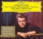 Peter Cornelius: Weihnachtslieder; Vaterunser; Wolf: 2 Mörike-Lieder