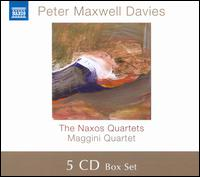 Peter Maxwell Davis: Naxos Quartets - David Angel (violin); Laurence Jackson (violin); Lorraine McAslan (violin); Maggini Quartet; Martin Outram (viola);...