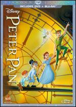 Peter Pan [Diamond Edition] [2 Discs] [DVD/Blu-ray] - Clyde Geronimi; Hamilton Luske; Wilfred Jackson