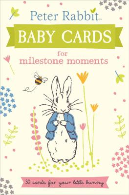 Peter Rabbit Baby Cards: for Milestone Moments -