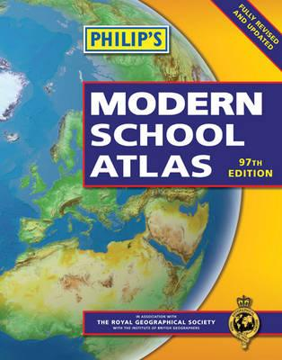 Philip's Modern School Atlas: 97th Edition (Hardback) -
