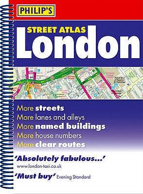 Philip's Street Atlas London -