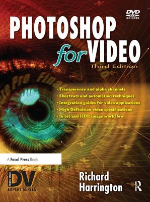 Photoshop for Video - Harrington, Richard
