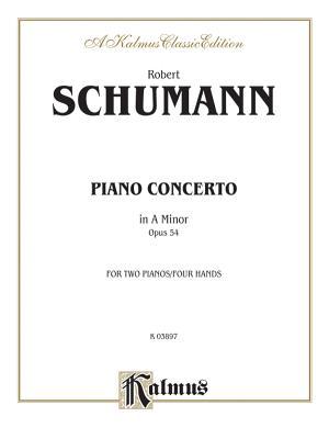 Piano Concerto in a Minor, Op. 54 - Schumann, Robert (Composer)
