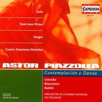 Piazzolla: Contemplaci�n e Danza - Lajos Lencses (horn); Lajos Lencses (oboe); Massanori Kobiki (piano); Orchestre de Chambre de Toulouse; Alain Moglia (conductor)