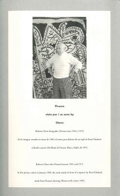 Picasso as Seen by Otero - Otero, Roberto (Photographer), and Lebrero, Jose (Text by), and Martin, Alberto (Text by)
