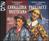 Pietrro Mascagni: Cavalleria Rusticana; Ruggero Leoncavallo: Pagliacci - Aldo Protti (baritone); Anna di Stasio (mezzo-soprano); Antonio Pirino (tenor); Attilio d'Orazi (baritone);...