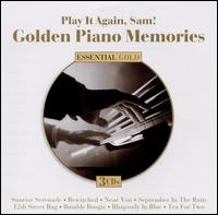 Play It Again, Sam! Golden Piano Memories - Various Artists