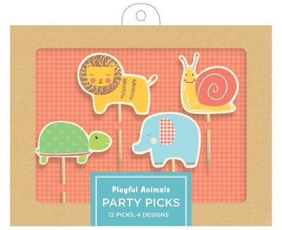 Playful Animals Party Picks -