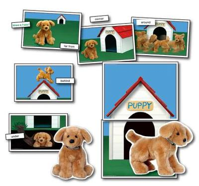 Positional/Directional Concepts: Learning Cards: Where is Puppy? - Compiler-Key Education Publishing