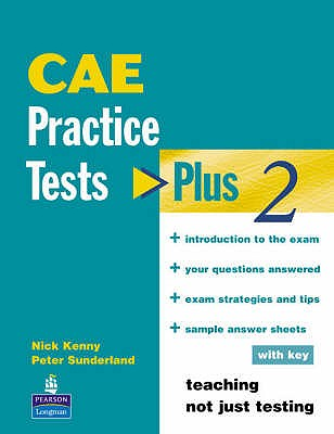 Practice Tests Plus 2 CAE With Key - Kenny, Nick, and Newbrook, Jacky
