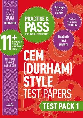 Practise and Pass 11+ CEM Test Papers - Test Pack 1 - Williams, Peter