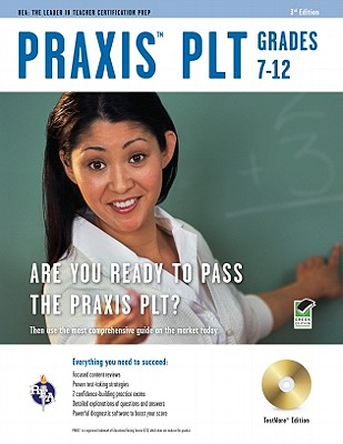 Praxis PLT Grades 7-12, TestWare edition - Price Davis, Anita, Dr., and Research & Education Association