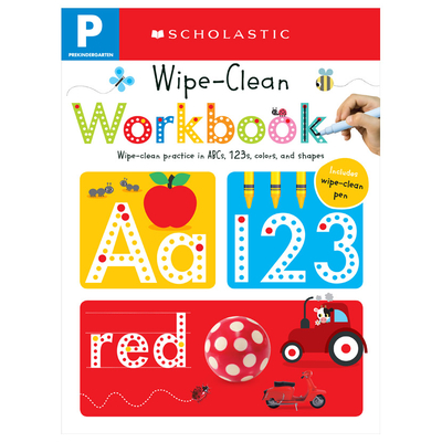 Pre-K Wipe-Clean Workbook: Scholastic Early Learners (Wipe-Clean Workbook) - Scholastic, and Scholastic Early Learners