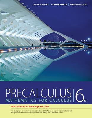 Precalculus, Enhanced Webassign Edition (Book Only) - Stewart, James, and Redlin, Lothar, and Watson, Saleem