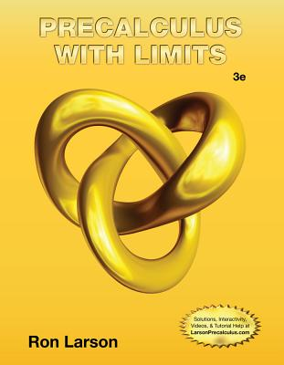 Precalculus with Limits - Larson, Ron, Professor, and Falvo, David C