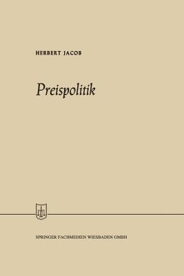 Preispolitik - Jacob, Herbert