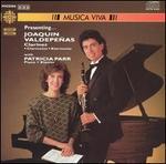 Presenting... Joaquin Valdepe�as, Clarinet