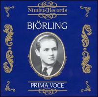 Prima Voce: Björling - Jussi Björling (tenor); Nils Grevillius (conductor)