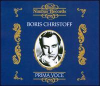 Prima Voce: Boris Christoff - Boris Christoff (bass); Gerald Moore (piano); Feodor Potorzhinski Russian Choir (choir, chorus);...