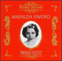 Prima Voce: Mafalda Favero - Alessandro Ziliani (tenor); Ines Ruotolo (harp); Mafalda Favero (soprano); Tito Schipa (tenor); La Scala Theater Orchestra