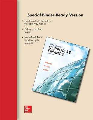 Principles of Corporate Finance - Brealey, Richard A, Professor, and Myers, Stewart C, and Allen, Franklin