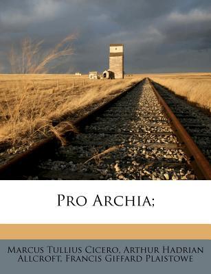 Pro Archia - CICERO