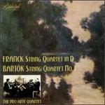 Pro Arte Quartet Play Franck & Bartok