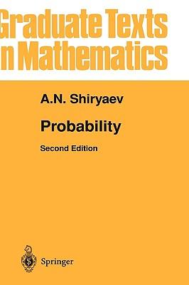 Probability - Shiryaev, Albert N, and Wilson, Stephen S (Translated by)