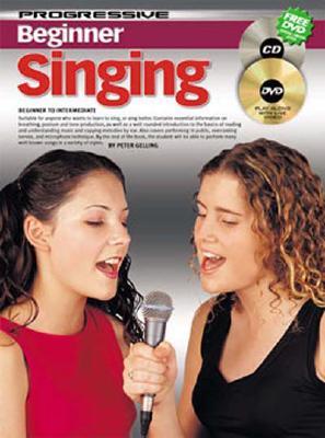Progressive Beginner Singing - Gelling, Peter