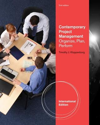 Project Management Contemporary Approach - Kloppenborg, Timothy J.