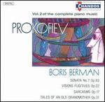 Prokofiev: Complete Piano Music, Vol. 2