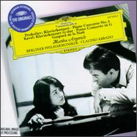 Prokofiev: Piano Concerto No. 3; Ravel: Piano Concerto in G; Gaspard de la Nuit - Martha Argerich (piano); Berlin Philharmonic Orchestra; Claudio Abbado (conductor)