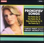 Prokofiev Songs