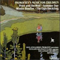 Prokofiev's Music for Children - Finchley Children's Music Group; Gabriel Prokofiev; Oleg Prokofiev; Penelope Walmsley-Clark (soprano); New London Orchestra;...