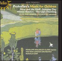 Prokofiev's Music for Children - Finchley Children's Music Group; Gabriel Prokofiev; Oleg Prokofiev; Penelope Walmsley-Clark (soprano); New London Orchestra;...