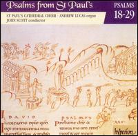 Psalms from St. Paul's, Vol. 2: Psalms 18-29 - Andrew Lucas (organ); St. Paul's Cathedral Choir, London (choir, chorus)